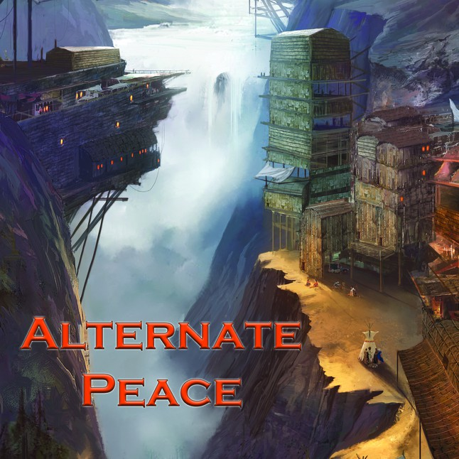 Alternate Peace anthology cover